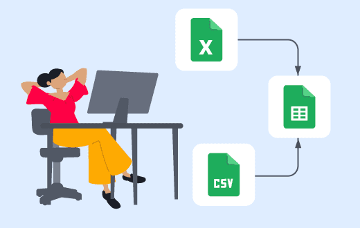 import csv to google sheets featured image