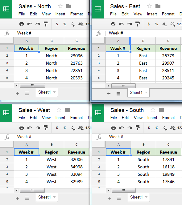 How To Merge Data From Multiple Google Sheets