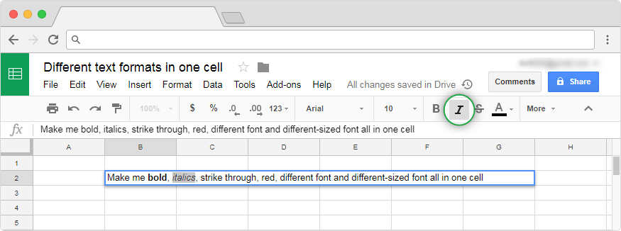 How to format cells in Google Sheets? - Blog Sheetgo