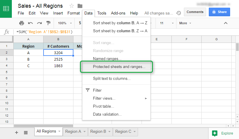 how to clear cells in google sheets