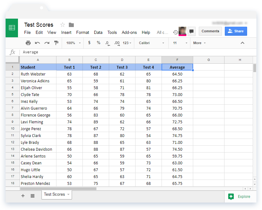 How to filter Google Sheets without affecting other users
