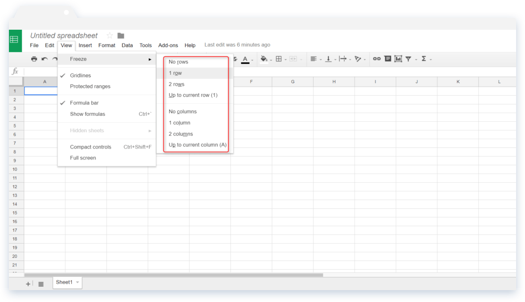 Spreadsheet Tips and Tricks: Navigation to Freezing Rows And Columns