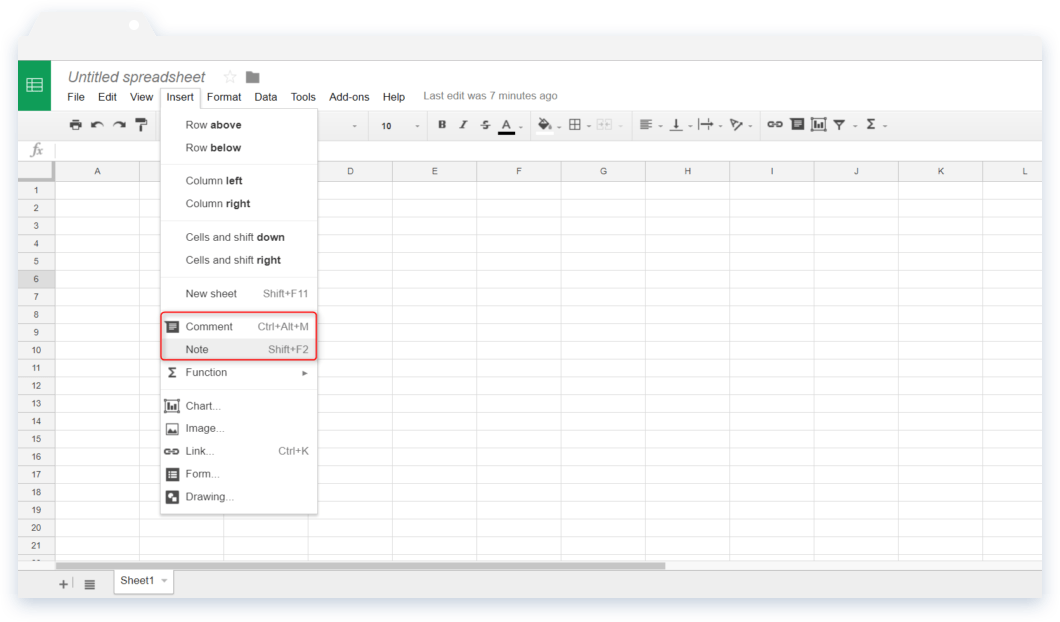 Spreadsheet Tips and Tricks: Navigation to Comment and Note