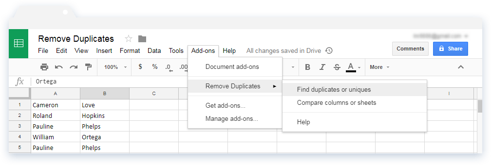 Extend the Google Sheets functionalities - Illustration 4
