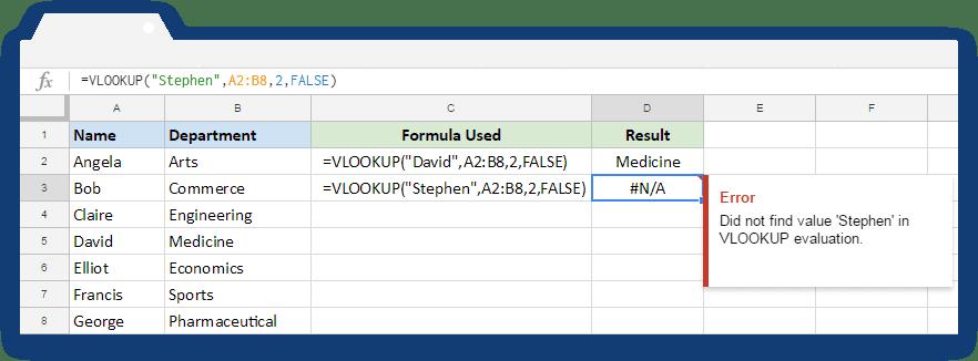 How to use the IFERROR formula in Google Sheets - Blog Sheetgo