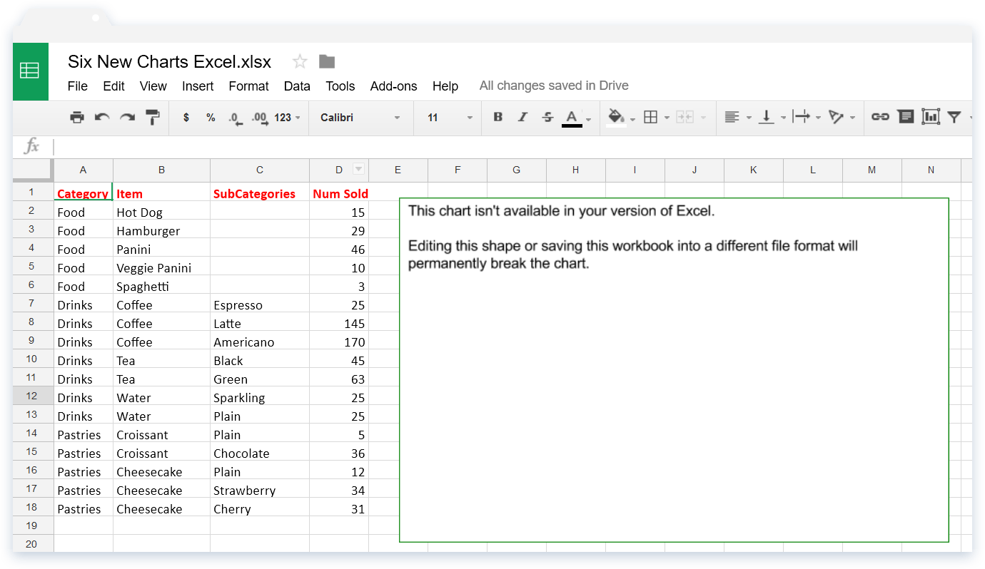 Uploading Excel Files to Google Sheets - Concerns (image 1)
