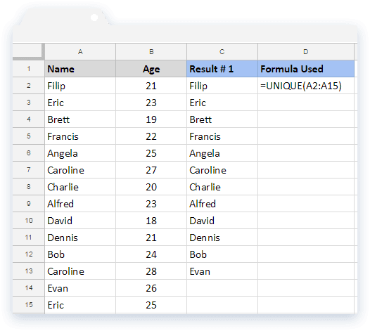 google sheets formulas how to add multiple colums