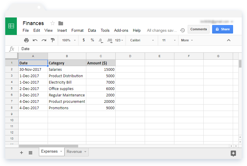 Color Google Sheets tabs - Illustration 1