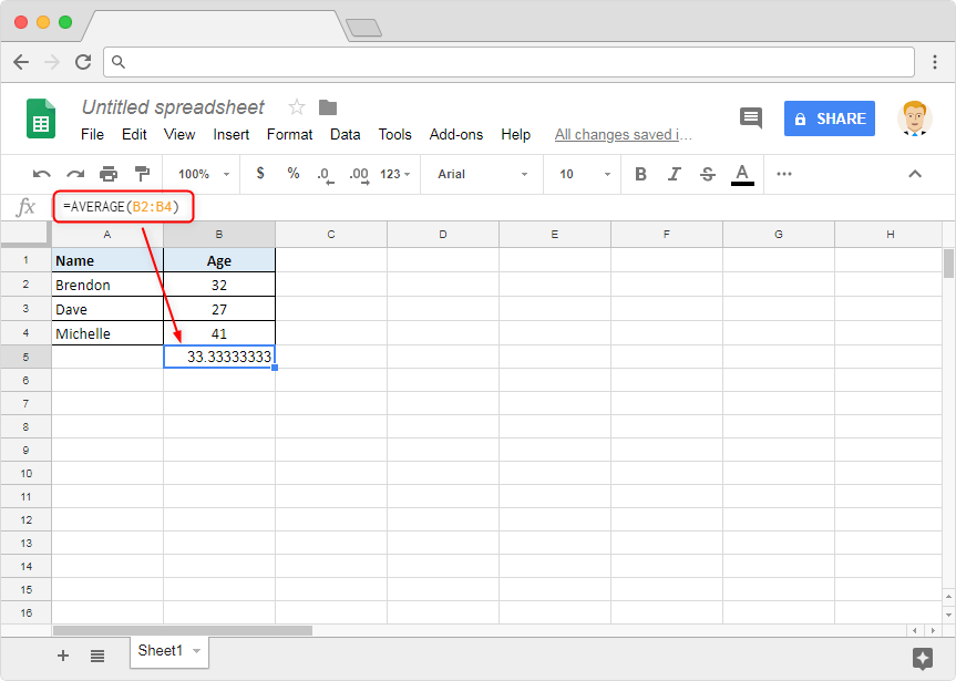 Excel to Google Sheets - Illustration 4b