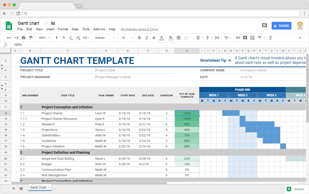 Google Sheets Templates - Illustration 2