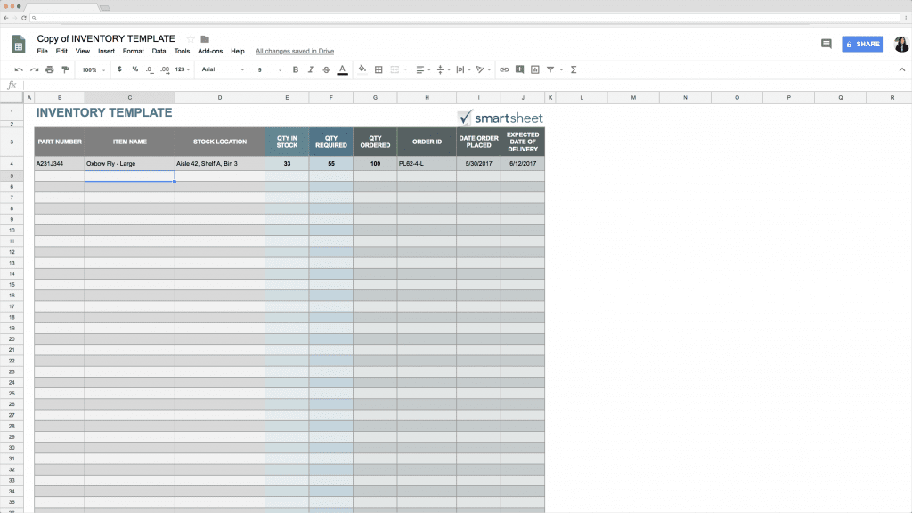 Top 5 Free Google Sheets Inventory Templates 183 Blog Sheetgo