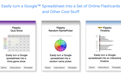 How to use Flippity add-on for Google Sheets