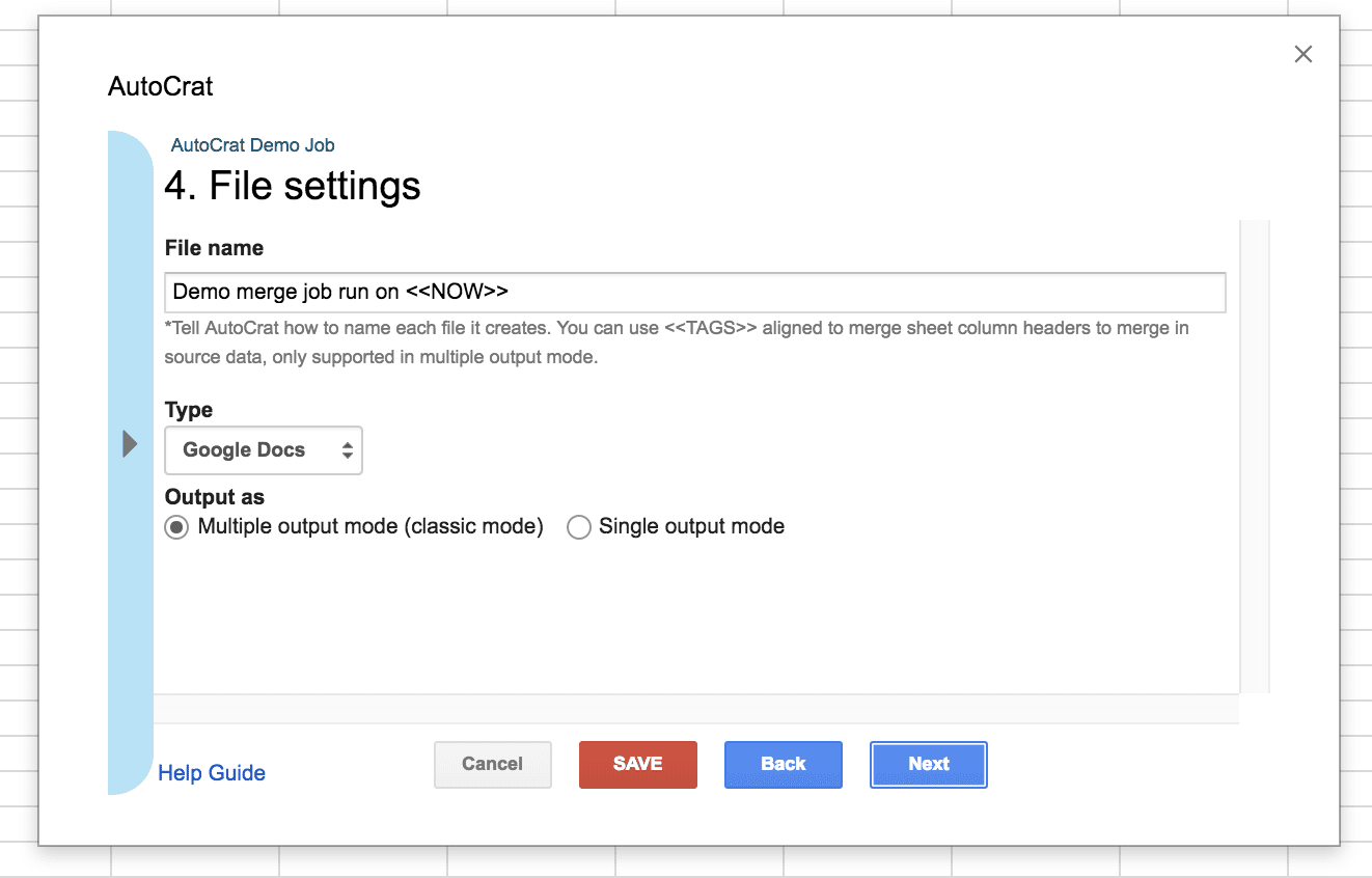How to use autoCrat add-on for Google Sheets - Blog Sheetgo