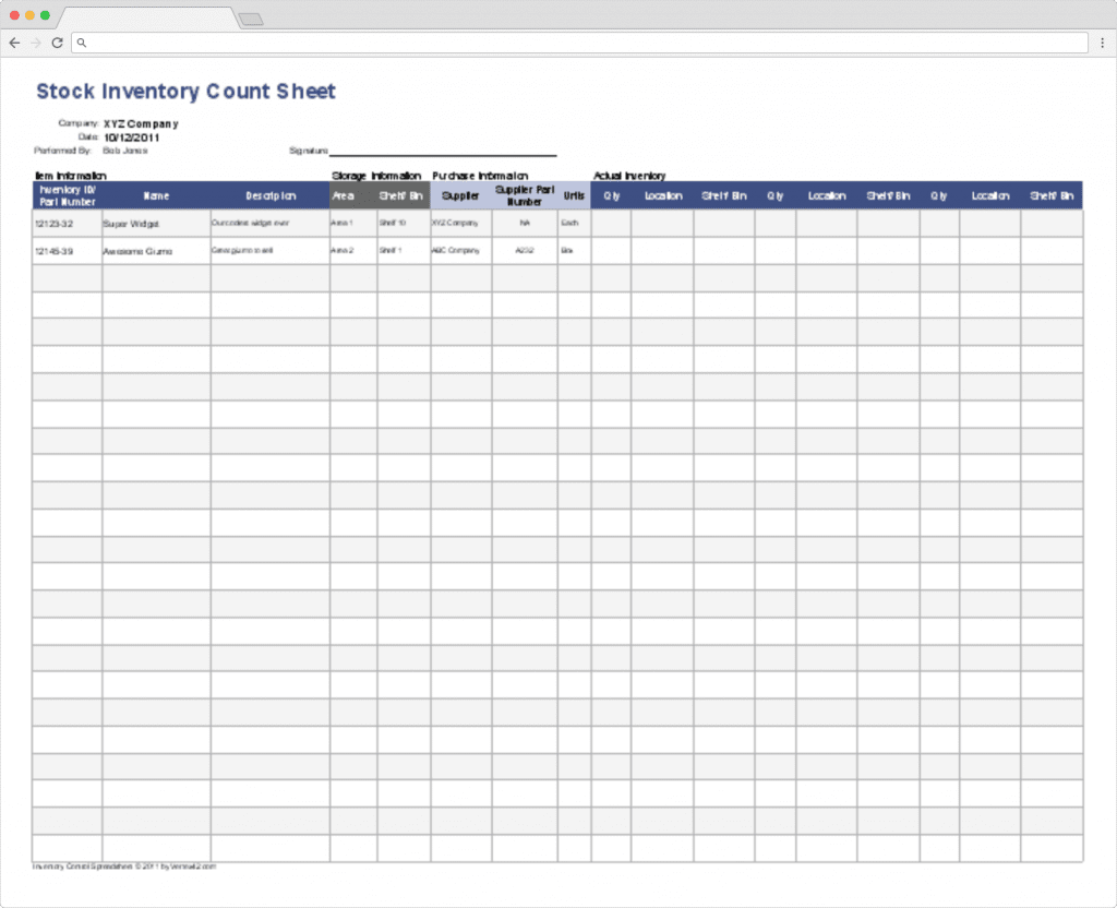 Top 10 Inventory Tracking Excel Templates · Blog Sheetgo