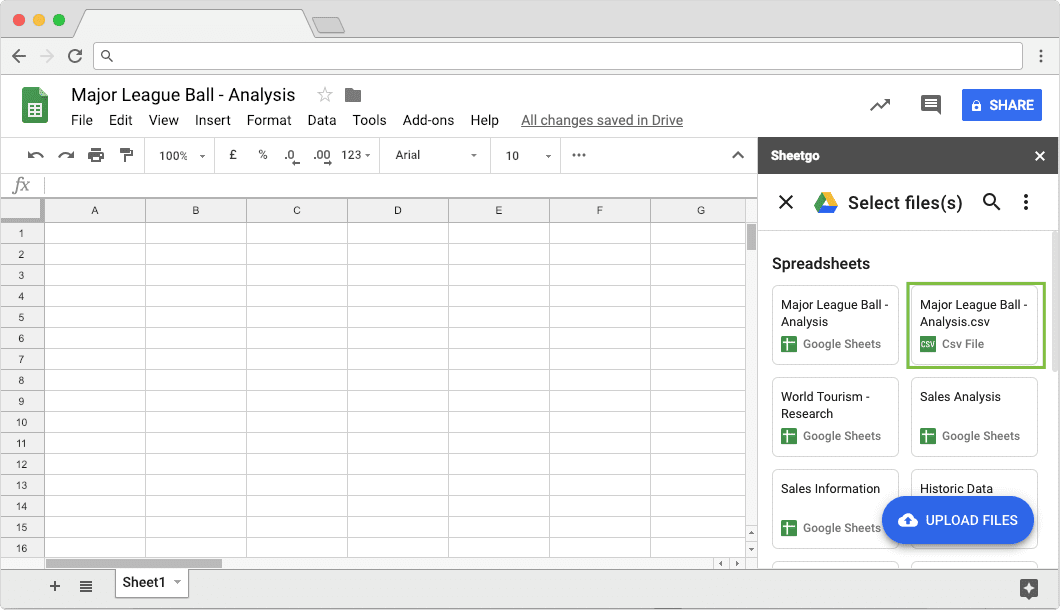 How to Automatically Import CSV Data to Google Sheets
