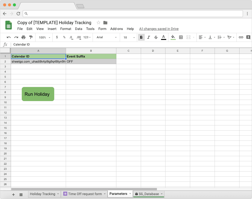 Holiday tracking in Google Sheets: how to set it up - Blog Sheetgo