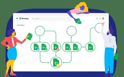 Introducing Sheetgo Workflows
