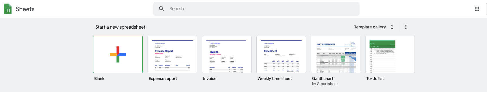 Sales Plan Template: Google Sheets Template Gallery