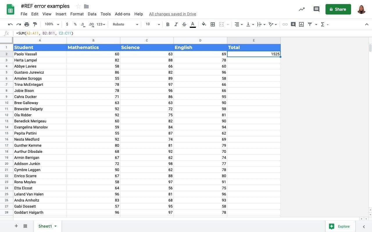 How to solve the REF error on spreadsheets   Sheetgo Blog