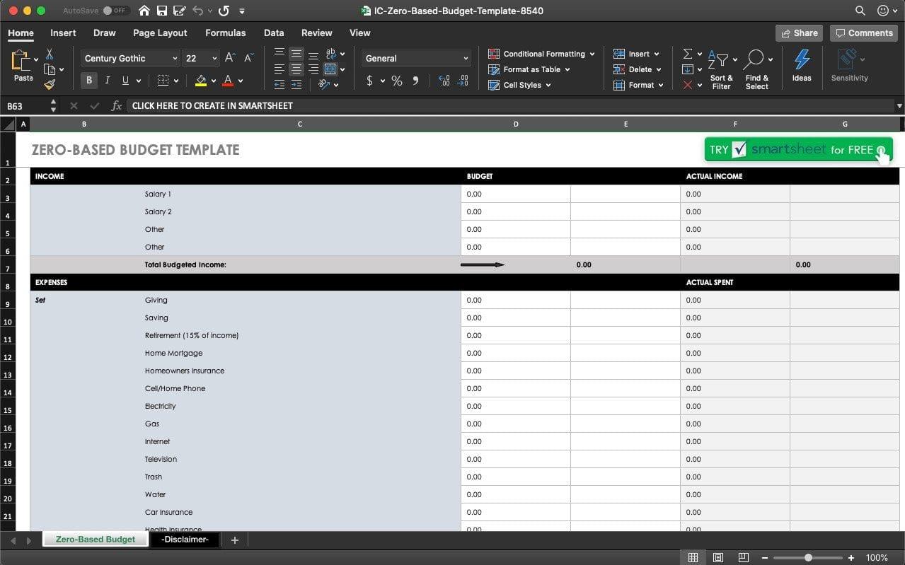 Best Excel Budget Template from blog.sheetgo.com