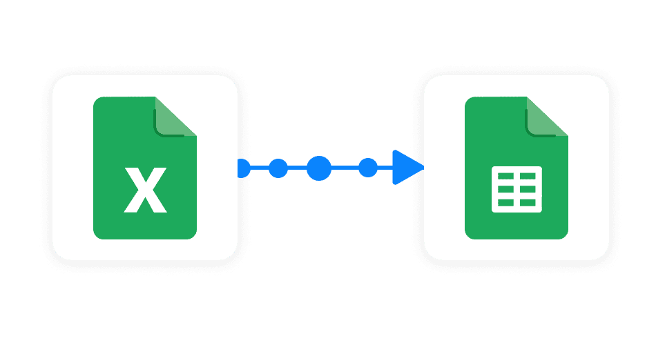 Excel to Google Sheets connection Sheetgo