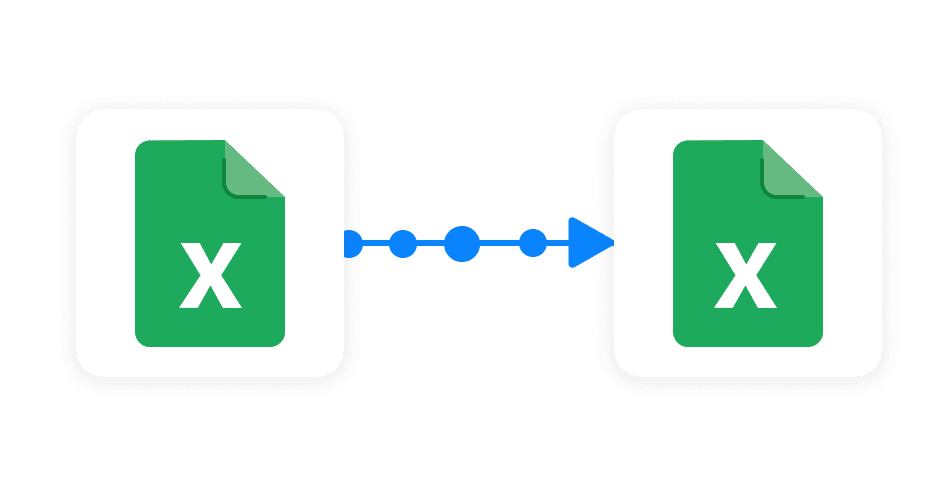 Connect Excel files