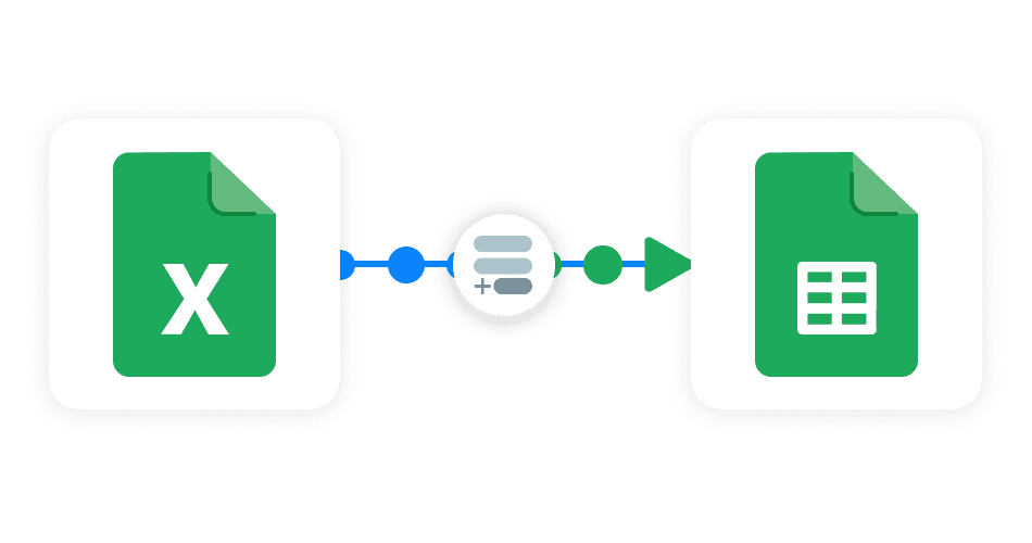 Append Excel to Google Sheets Sheetgo