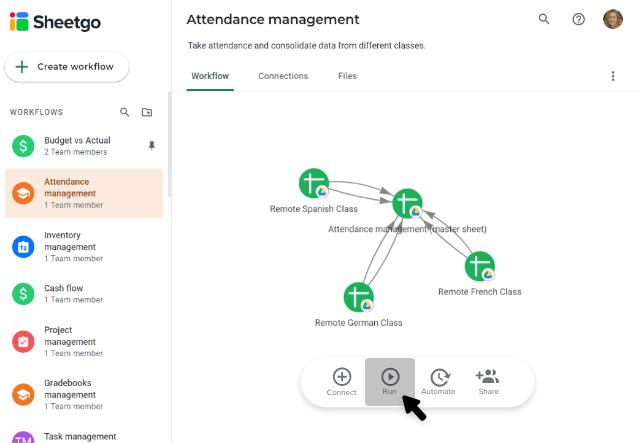 google-classroom-attendance-workflow-run