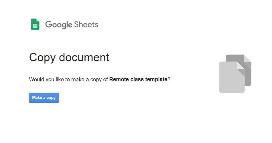 google-classroom-attendance-copy-template