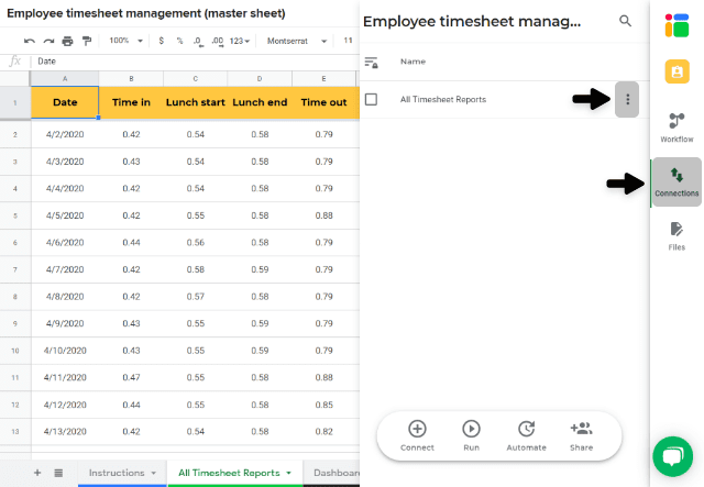 employee-timesheet-template-edit-connection