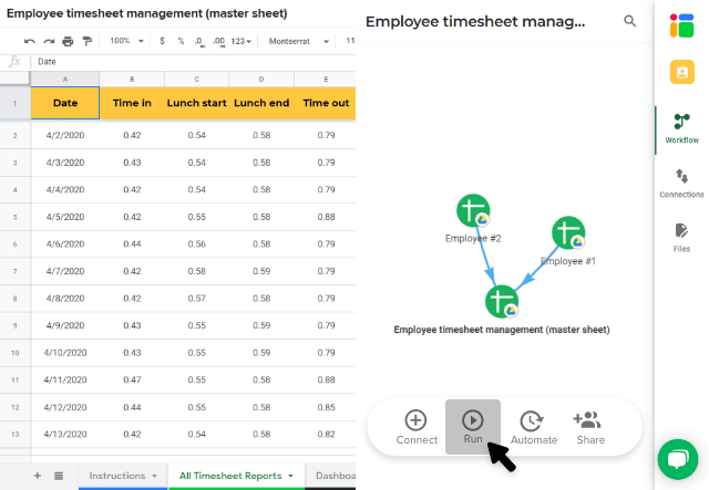 employee-timesheet-run-workflow