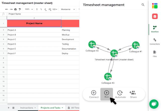 timesheet-management-template-run-workflow