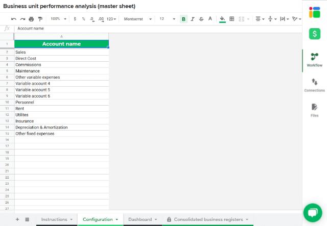 business-unit-template-configuration