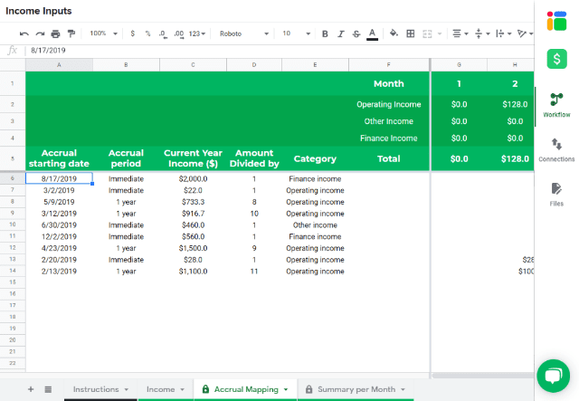 Income Statement Template In Google Sheets Sheetgo Blog
