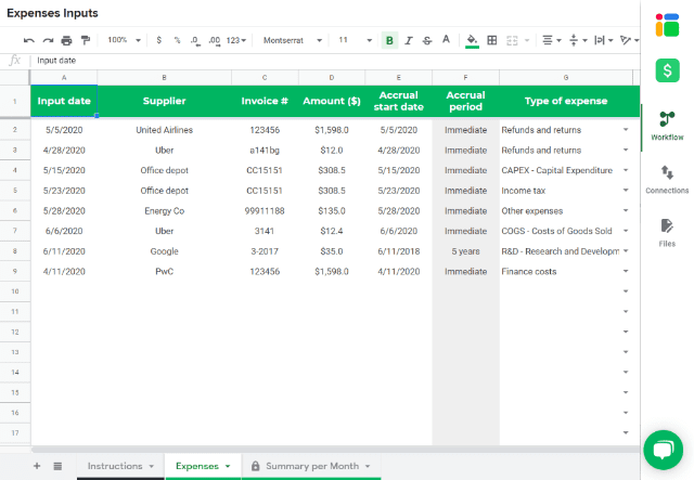 income-statement-expenses-sheet-expenses-tab