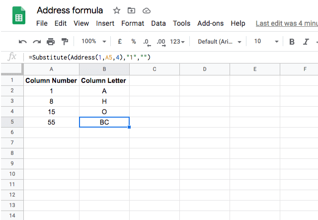 address-function-google-sheets-4