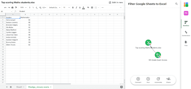 filter-google-sheets-to-excel-imported-data