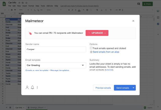 workflows 9. Mailmeteor