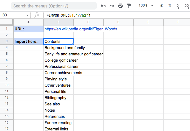 importxml google sheets 6