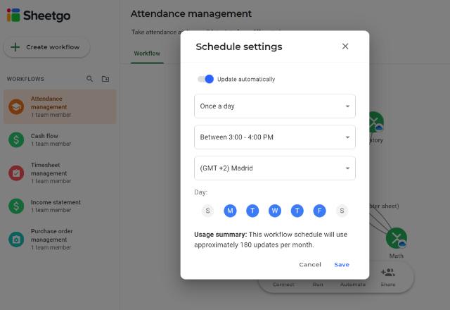 Attendance Management Template Excel Automate