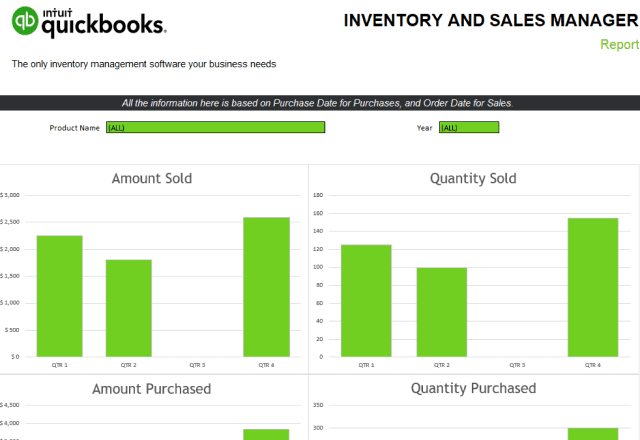 Top 10 Inventory Tracking Excel Templates Quickbooks 8