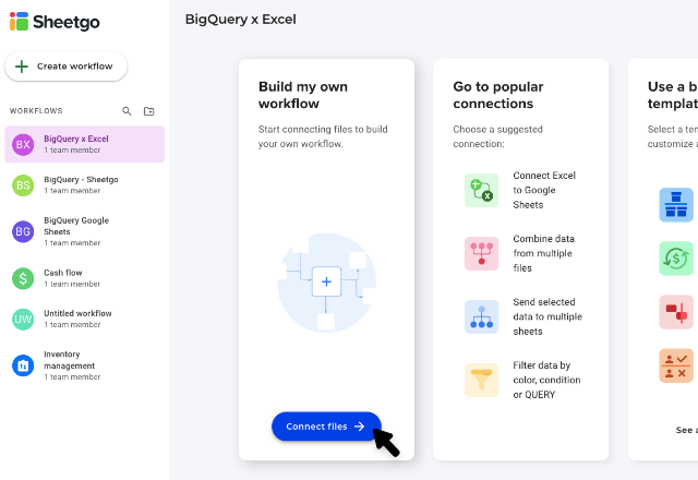 BigQuery to excel 1