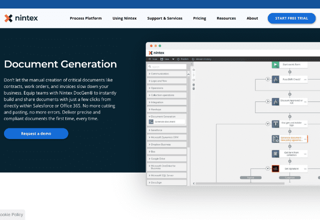 best document generation software 3. Nintex