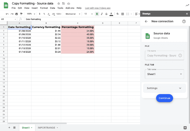 copy formatting google sheets 5