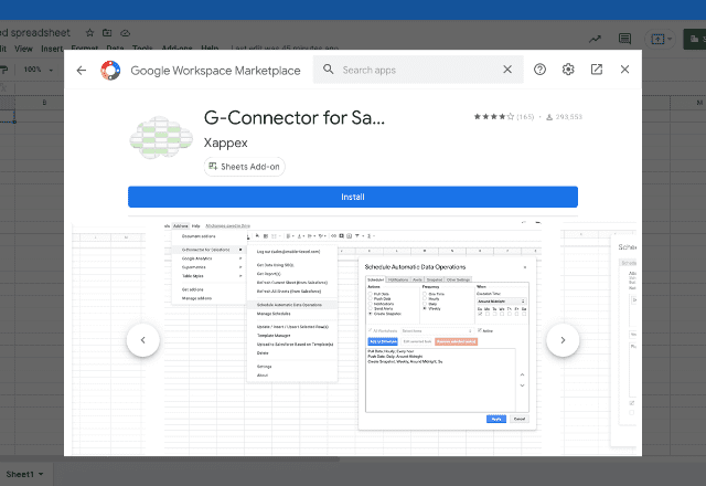 add-ons for inventory 10. G-Connector Salesforce