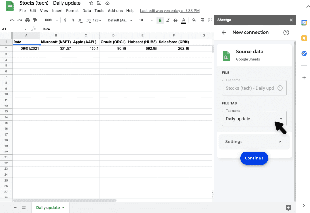 track changes in google sheets 3