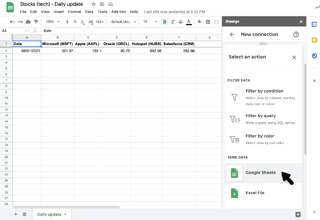 track changes in google sheets 5