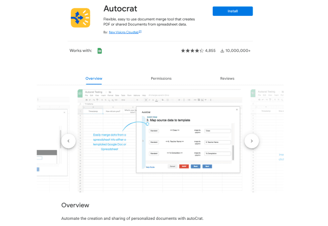 add-ons for education Autocrat