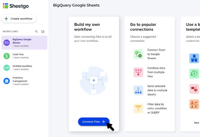 BigQuery to Google Sheets 1