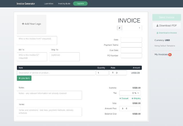 best invoice generator Invoice Generator